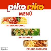 Piko Riko menu