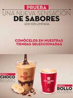 Ofertas de Juan Valdez, Nuevos Sabores de Café