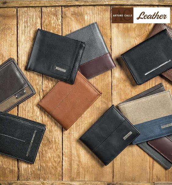 Ofertas de Arturo Calle, Colección Leather