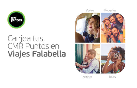 Ofertas de Viajes Falabella, Bonos de Viaje