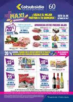 Ofertas de Supermercados Colsubsidio, Maxi quincena - Este 21 de Octubre ¡Sácale el mejor partido a tu quincena!