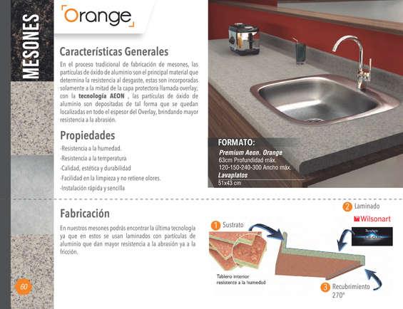 Ofertas de Madecentro, Catálogo Mesones de cocina