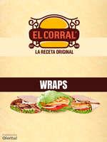 Ofertas de El Corral, Menú Wraps