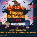 Ofertas de Garvi, Happy Halloween Garvi