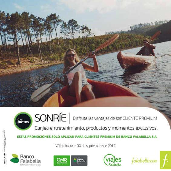 Ofertas de Banco Falabella, Catálogo Cliente Premium - Septiembre 2017