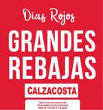 Ofertas de Calzacosta, Días Rojos -  Grandes rebajas