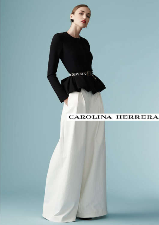 Ofertas de Carolina Herrera, Resort 2017