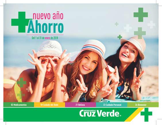 Ofertas de Cruz Verde, Catálogo Enero