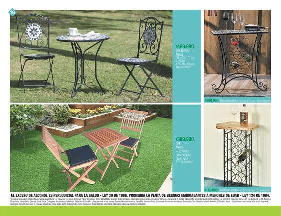 Comprar Mobiliario de jardín en Pereira - Tiendas y promociones ...