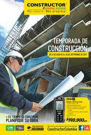 Temporada de Construcción - Pereira