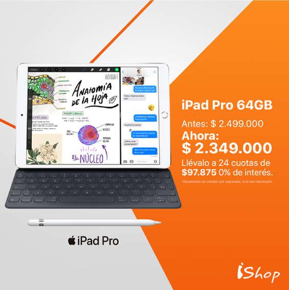 Ofertas de Ishop, Ipad Pro
