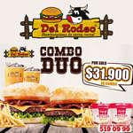 Ofertas de Hamburguesas del Rodeo, Combo Duo