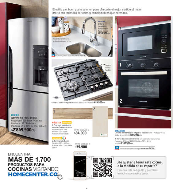 Ofertas de HomeCenter, Home Remodela