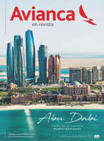 Ofertas de Avianca, Avianca en Revista Ed.54 - Abu Dabi