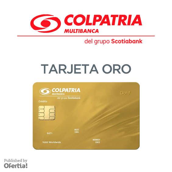 Ofertas de Colpatria, Tarjeta Oro