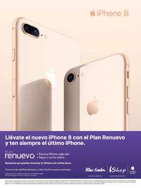 Llévate el nuevo iPhone 8 con el Plan Renuevo y ten siempre el último iPhone