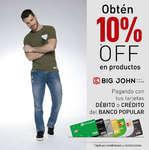 Ofertas de Banco Popular, Obtén 10%Off en productos Big John - Pagando con tus tarjetas débito y crédito del Banco Popular