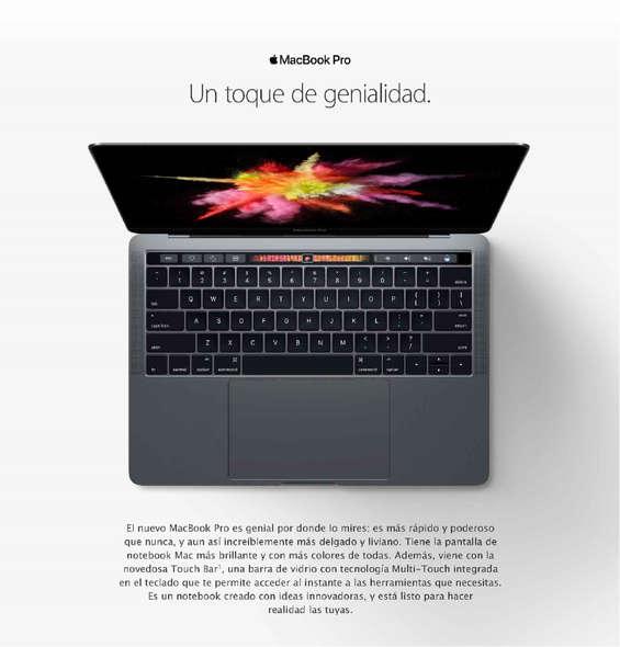 Ofertas de Mac Center, Nueva Macbook Pro