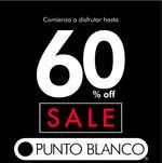 Ofertas de Punto Blanco, SALE 60%Off