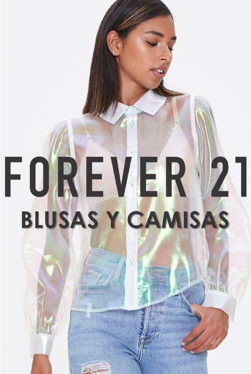 Ofertas de Forever 21, Blusas y Camisas