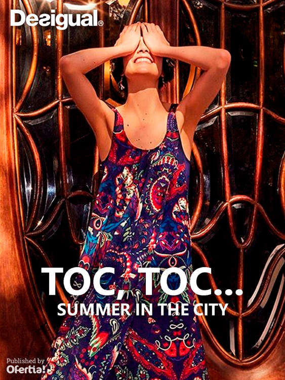 Ofertas de Desigual, Toc toc... Summer in the city