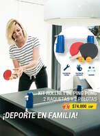 Ofertas de Decathlon, Ping pong