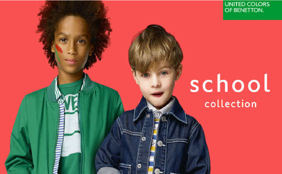 Ofertas de United Colors Of Benetton, School Collection - Niños