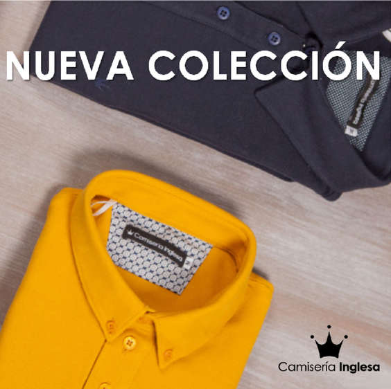 Ofertas de Camisería Inglesa, Nueva Colección