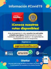 Expreso Brasilia COVID