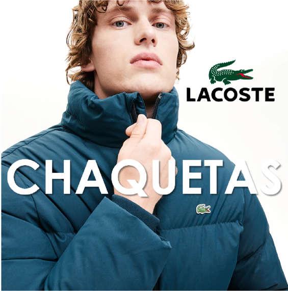 Ofertas de Lacoste, Chaquetas hombre