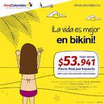 Ofertas de Viva Colombia, ¡La vida es mejor en bikini!