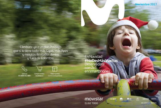 Ofertas de Movistar, Catalogo Noviembre