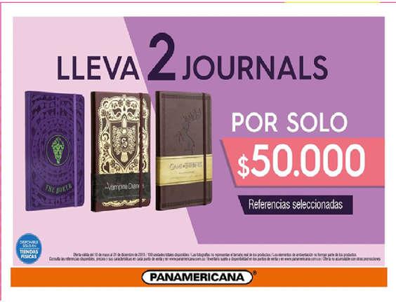 Ofertas de Librería Panamericana, Journal
