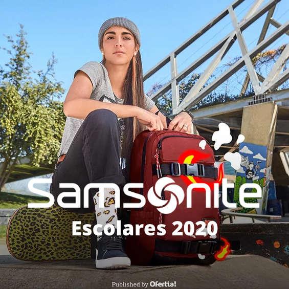 Ofertas de Samsonite, Escolares 2020