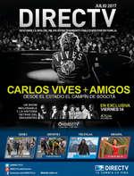 Ofertas de DirecTV, Boletín Julio 2017