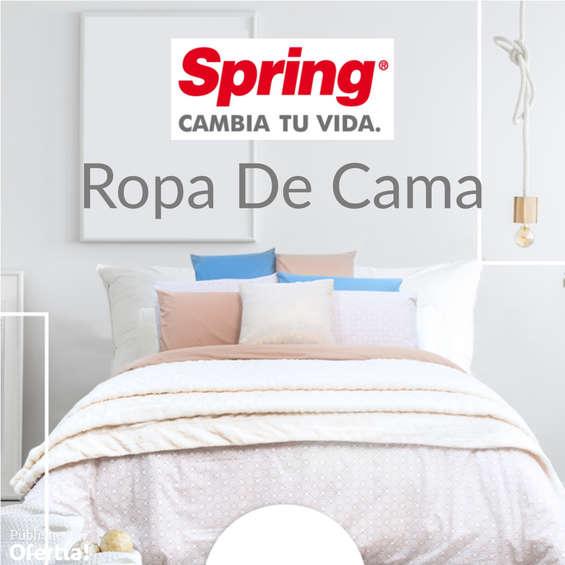 Ofertas de Colchones Spring, Ropa De Cama