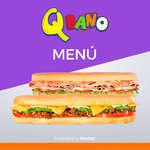 Ofertas de Sandwich Qbano, Qbano sandwiches