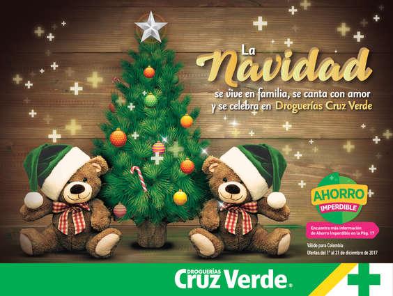 Ofertas de Cruz Verde, La navidad se celebra en Droguerías Cruz Verde
