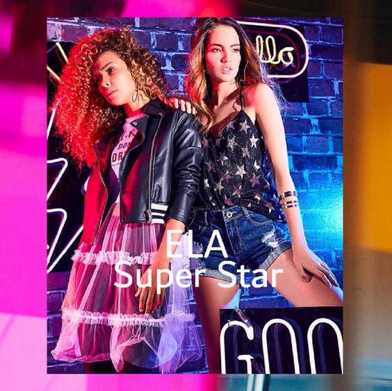 Ofertas de Ela, Lookbook nueva colección - Super Star