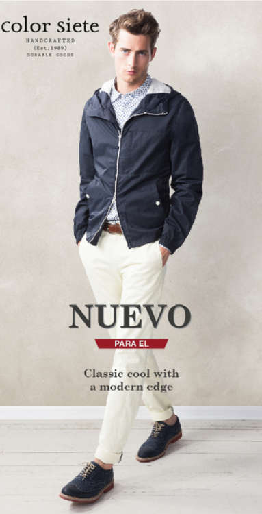 Ofertas de Color Siete, Nuevo para él - Classic cool with a modern edge