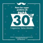 Ofertas de La Riviera, 30% en fragancias seleccionadas