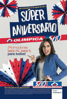 Ofertas de Super Tiendas Olímpica, Súper Aniversario Olímpica