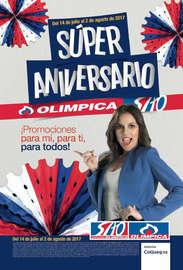 Súper Aniversario Olímpica