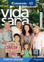 Ofertas de Droguería Colsubsidio, Revista Vida Sana Ed. 129 - Cuida tu corazón a cualquier edad