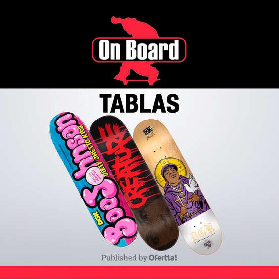 Ofertas de On Board, Tablas