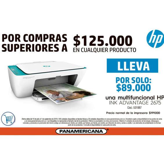Ofertas de Librería Panamericana, Multifuncional HP En Promoción