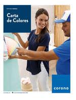 Ofertas de Hipercentro Corona, Carta de colores