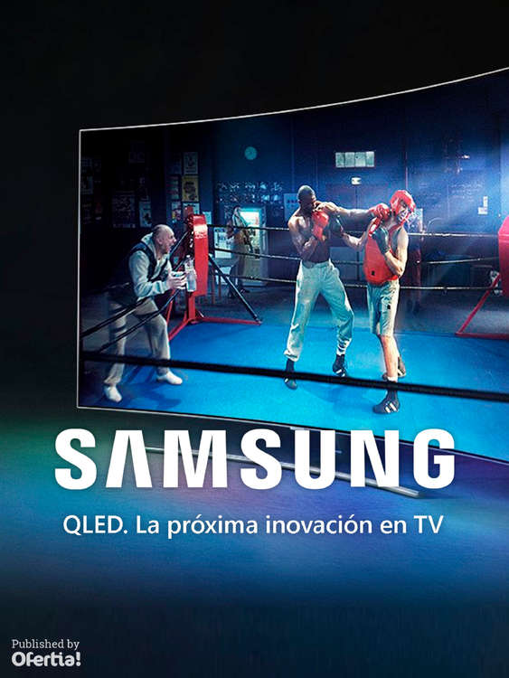 Ofertas de Distribuidor Samsung, QLED La próxima inovación en TV