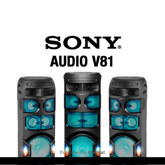 Ofertas de Sony, Sony V81