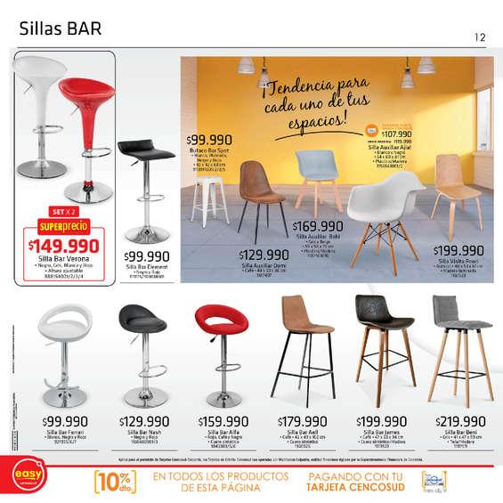 Comprar silla de bar aluminio en soacha tiendas y for Sillas bar muebles y accesorios